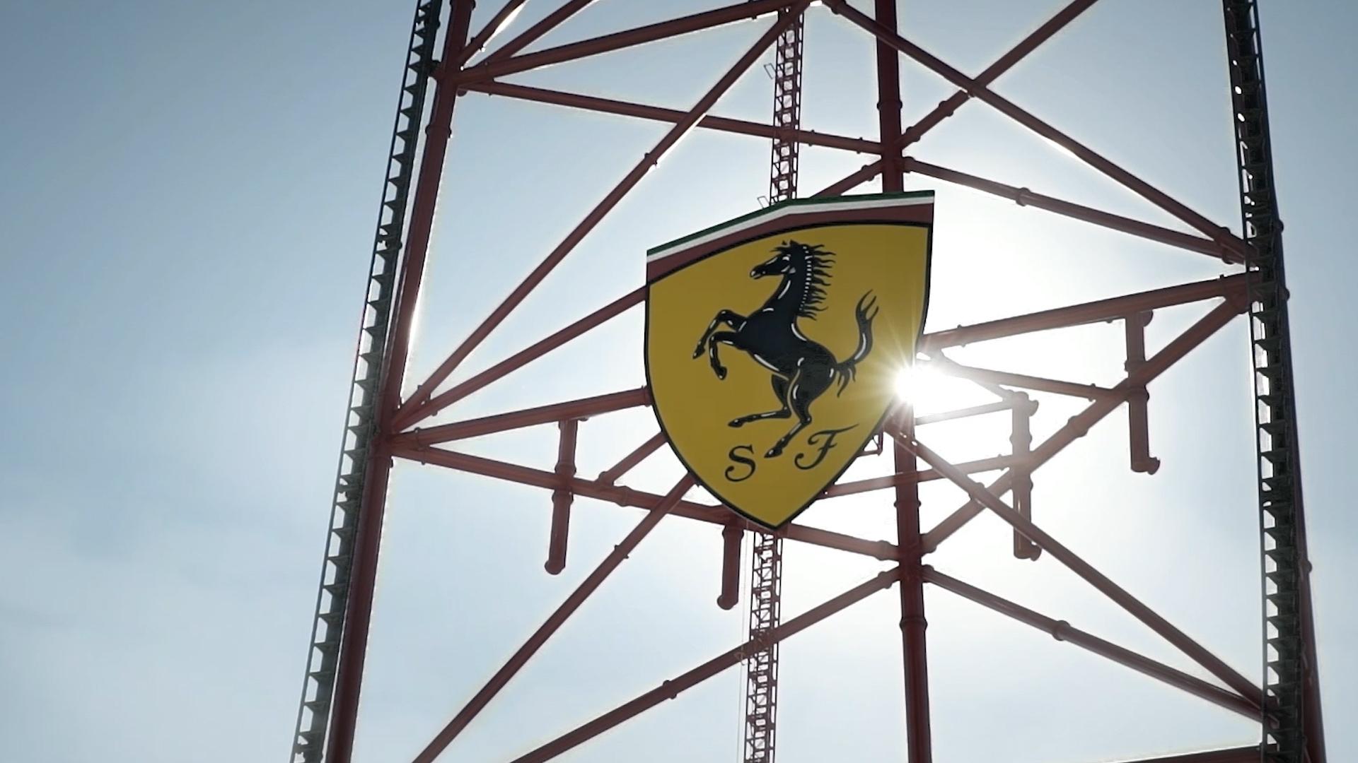 Vídeo de la maqueta de Ferrari Land en PortAventura World