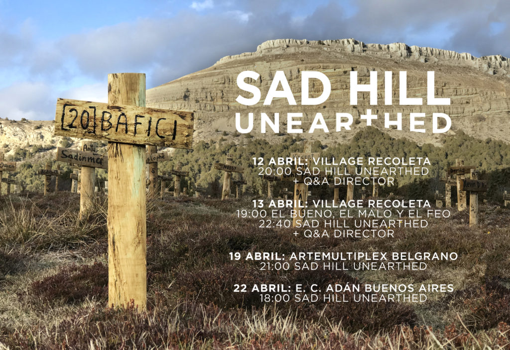 Horarios de Sad Hill Unearthed en BAFICI