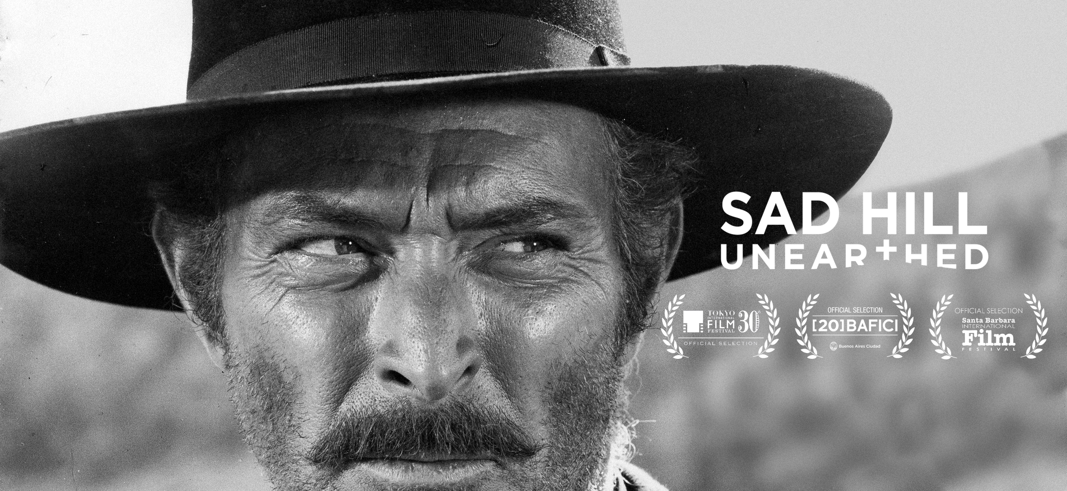Lee Van Cleef en Sad Hill Unearthed (Desenterrando Sad Hill) de Guillermo de Oliveira